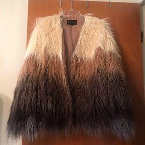 Eloquii fur feathered jacket